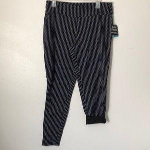 Black super stretchy dressy pants SzL